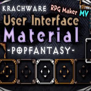 RPG Maker MV Krachware User Interface Material POPFANTASY