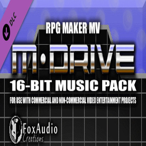RPG Maker MV M-DRIVE 16-bit Music Pack
