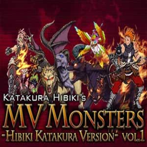 RPG Maker MV MV Monsters HIBIKI KATAKURA ver Vol.1