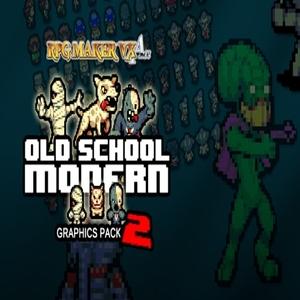 RPG Maker Old School Modern 2 Resource Pack