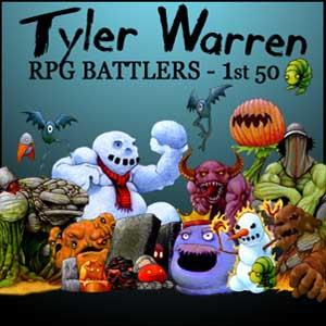 RPG Maker Tyler Warren First 50 Battler Pack