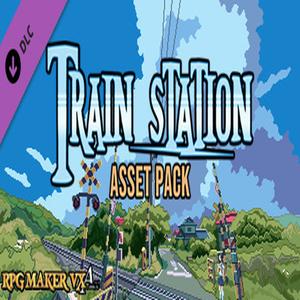 RPG Maker VX ACE Train Station Asset Pack