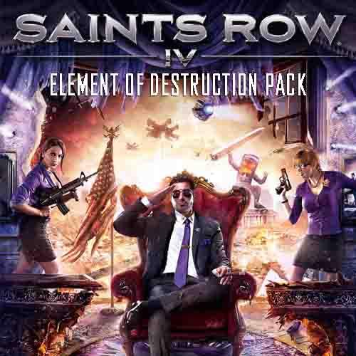 Saints Row 4 Element Of Destruction Pack