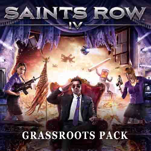 Saints Row 4 Grassroots Pack