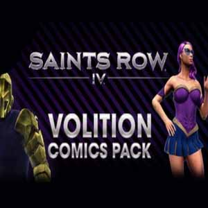 Saints Row 4 Volition Comic Pack