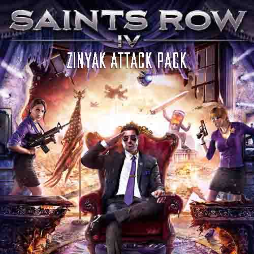 Saints Row 4 Zinyak Attack Pack