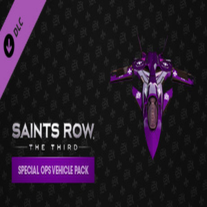 Saints Row The Third Special Ops Vehicle Pack