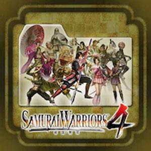 Samurai Warriors 4-2 Old Costumes Set