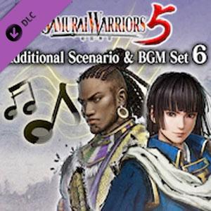 SAMURAI WARRIORS 5 Additional Scenario & BGM Set 6
