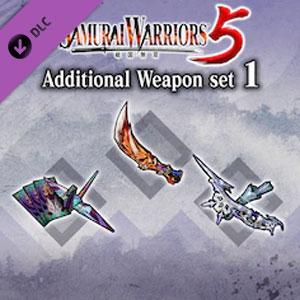 SAMURAI WARRIORS 5 Additional Weapon Set 1