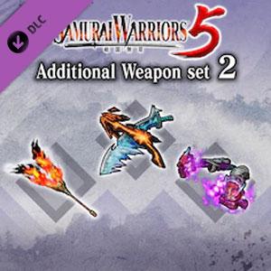 SAMURAI WARRIORS 5 Additional Weapon Set 2