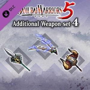 SAMURAI WARRIORS 5 Additional Weapon set 4