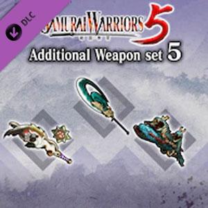 SAMURAI WARRIORS 5 Additional Weapon set 5