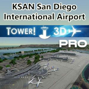 San Diego International [KSAN] airport for Tower!3D Pro