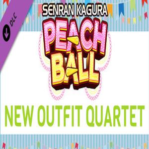 SENRAN KAGURA Peach Ball New Outfit Quartet