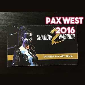 Buy Shadow Warrior 2 Pax West Ninja CD Key Compare Prices