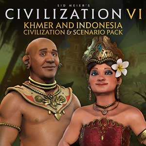 Sid Meier's Civilization 6 Khmer and Indonesia Civilization & Scenario Pack