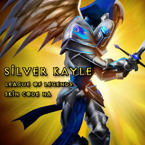 Buy Silver Kayle League Of Legends Skin Code NA GameCard Code Compare Prices