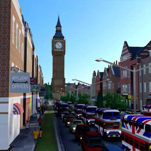 Buy SimCity - British City Set CD KEY Compare Prices