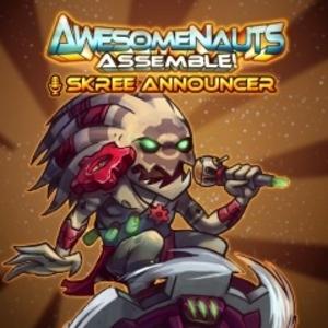 Skree Announcer Awesomenauts Assemble Announcer