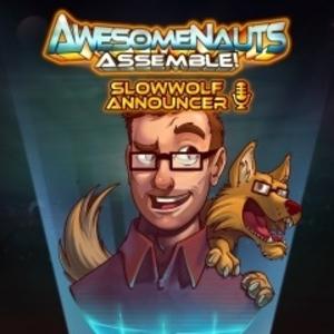 SlowWolf Awesomenauts Assemble Announcer