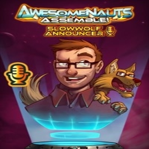 SlowWolf Awesomenauts Assemble Announcer