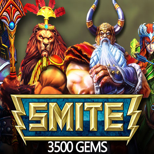 Buy SMITE 3500 Gems GameCard Code Compare Prices