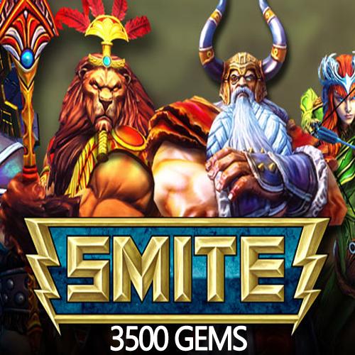 SMITE 3500 Gems