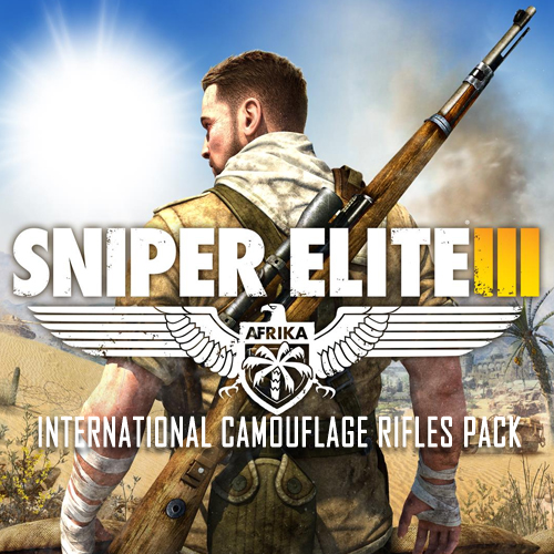 Sniper Elite 3 International Camouflage Rifles Pack