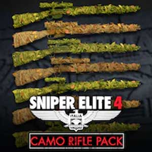Sniper Elite 4 Camouflage Rifles Skin Pack