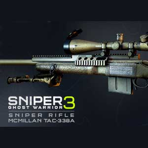 Sniper Ghost Warrior 3 Sniper Rifle McMillan TAC-338A