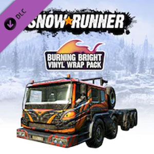 Buy SnowRunner Burning Bright Vinyl Wrap Pack Nintendo Switch Compare Prices
