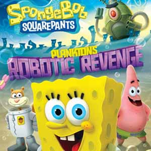 Buy SpongeBob SquarePants Planktons Robotic Revenge PS3 Game Code Compare Prices