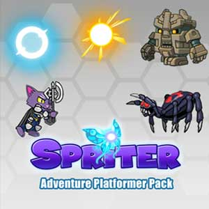 Spriter Adventure Platformer Pack