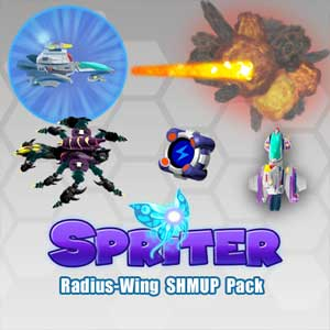 Spriter Radius-Wing SHMUP Animated Art Pack