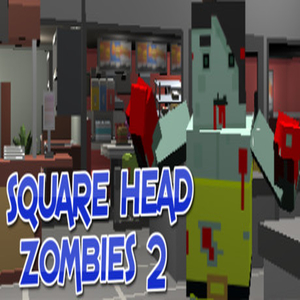 Square Head Zombies 2 FPS Game