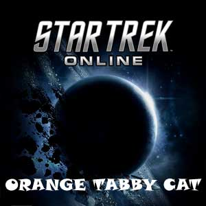 Star Trek Online Orange Tabby Cat