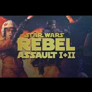 Star Wars Rebel Assault 1 and 2