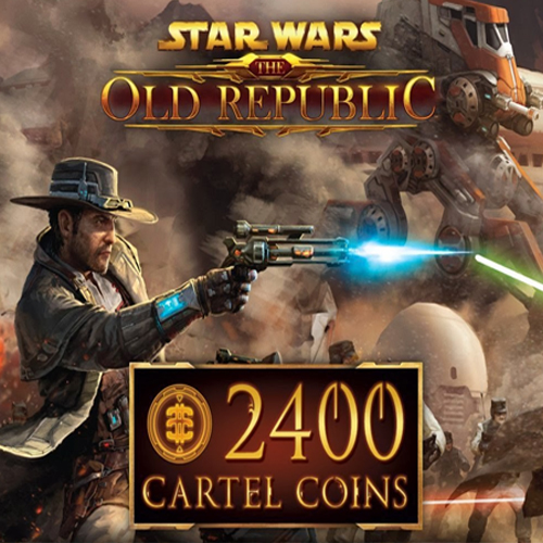 Star Wars The Old Repbulic 2400 Cartel Coins Gamecard