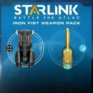 Starlink Battle for Atlas Digital Iron Fist Weapon Pack