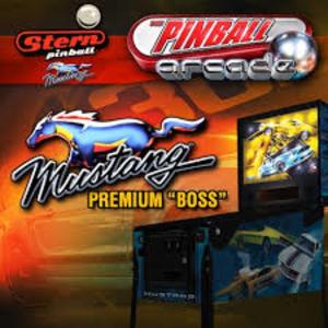 Stern Pinball Arcade Mustang Premium Boss