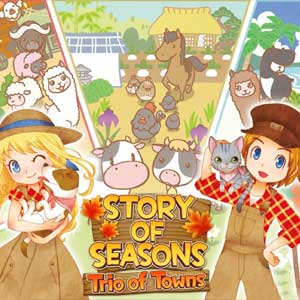 Buy Story of Seasons Trio of Towns 3DS Download Code Compare Prices