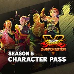 Street Fighter 5 Season 5 Character Pass