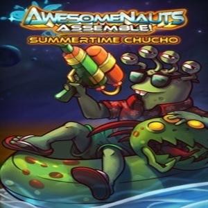 Summertime Chucho Awesomenauts Assemble Skin