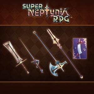Super Neptunia RPG Foreign Series Equipment Set
