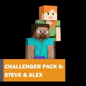Super Smash Bros Ultimate Challenger Pack 7 Steve & Alex