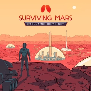 Surviving Mars Stellaris Dome Set