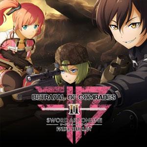 Sword Art Online Fatal Bullet Betrayal of Comrades