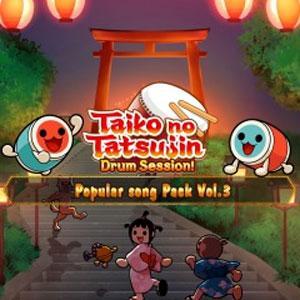 Taiko no Tatsujin Drum Session Popular Songs Pack Vol 3