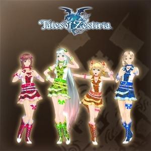 Tales of Zestiria The Idolmaster Costume Set